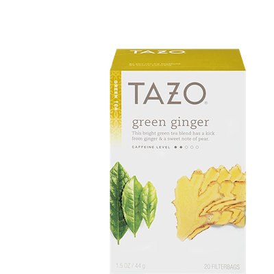 Tazo Green Ginger