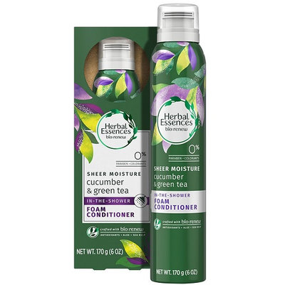 Renew Cucumber & Green Tea In-The-Shower Foam Conditioner