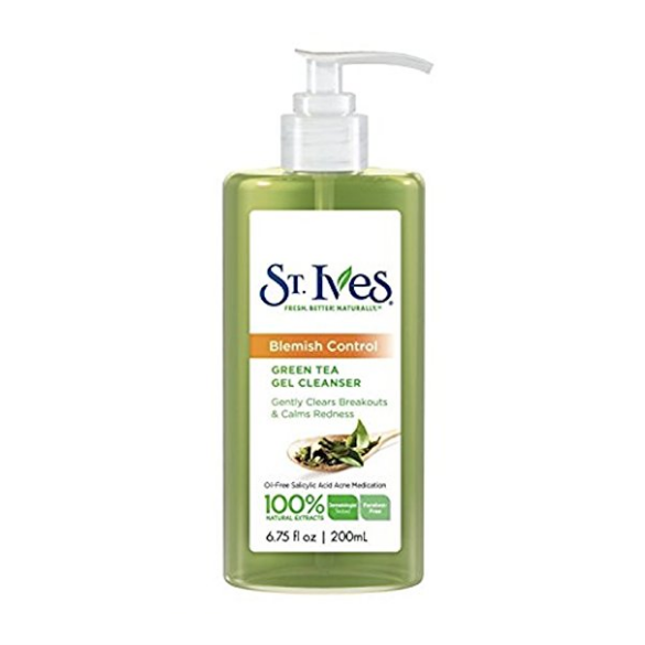 St. Ives Blemish Control Green Tea Gel Cleanser
