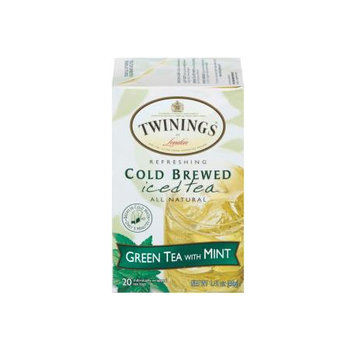 TWININGS® OF London Green Tea with Mint Cold Brewed Iced Tea Bags
