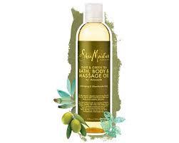 SheaMoisture Olive & Green Tea Bath Body & Massage Oil