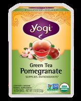 Yogi Tea Green Tea Pomegranate