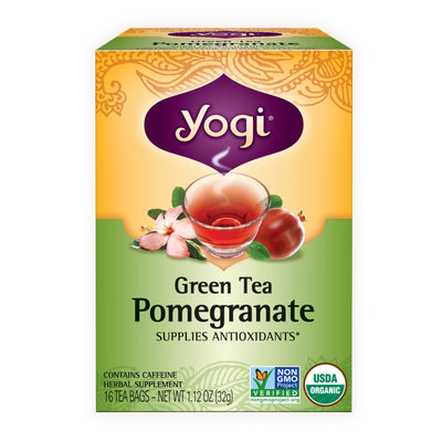 Yogi Tea Green Tea Pomegranate