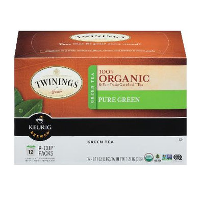 TWININGS® OF London Pure Green Organic K-Cup® Pods