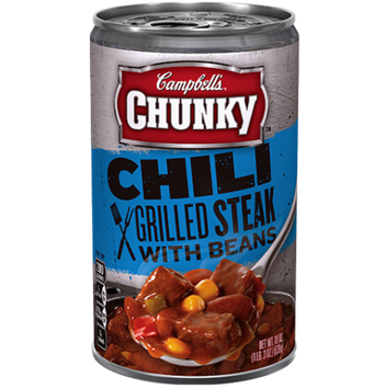 Campbell's® Chunky Chili Grilled Steak with Beans