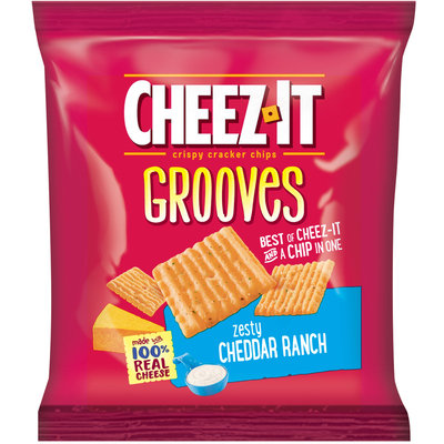 Cheez-It Grooves™ Zesty Cheddar Ranch