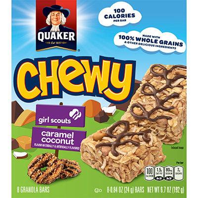 Quaker Life® Quaker Life® Chewy Girl Scouts Granola Bars Caramel Coconut