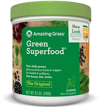 Amazing Grass Green SuperFood Drink Powder Original