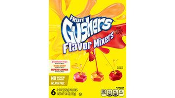 Fruit Gushers™ Flavor Mixers Fruit Flavored Snacks