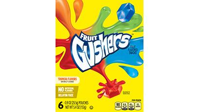 Fruit Gushers™ Tropical Flavors Fruit Flavored Snacks