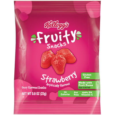 Keebler Fruity Snacks Strawberry
