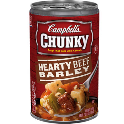 Campbell's® Chunky Hearty Beef Barley Soup