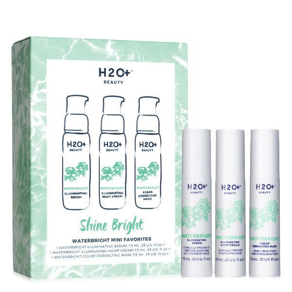 H2o+ Beauty Shine Bright Waterbright Mini Favorites Set