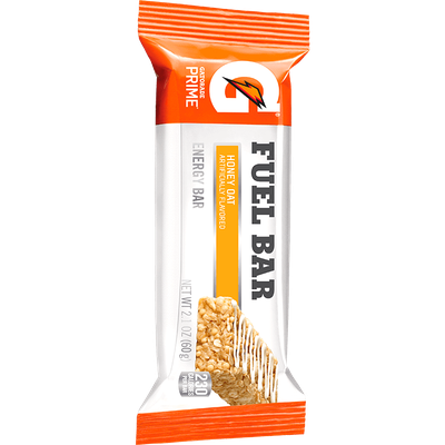 Gatorade® Prime® Honey Oat Fuel Bar Energy Bar