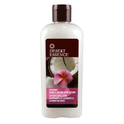 Desert Essence Coconut Shine & Refine Hair Lotion
