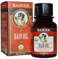 Badger Balm Men's Hair Oil - Navigator Class Man Care