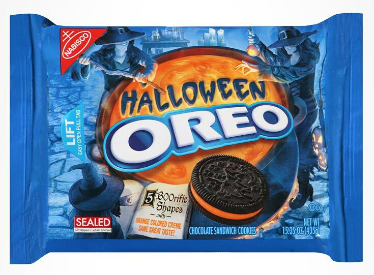 Nabisco Oreo Cookies Halloween Chocolate Sandwich