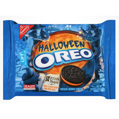 Nabisco Oreo Cookies Halloween Chocolate Sandwich