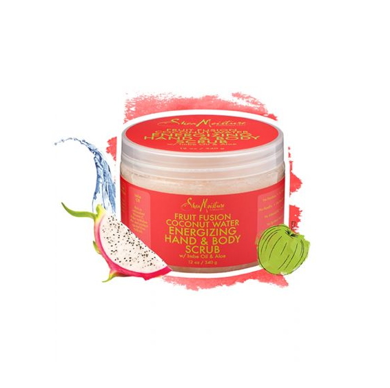 SheaMoisture Fruit Fusion Coconut Water Energizing Hand & Body Scrub