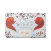 Hand in Hand Winter Woods Bar Soap