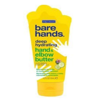 Freeman Bare Hands Bare Hands Deep Hydrating Hand & Elbow Butter with Cucumber & Water Lily