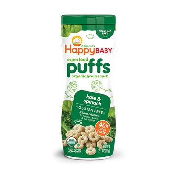 Happy Baby® Organics Kale & Spinach Superfood Puffs