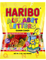HARIBO Alphabet Letters Fruit Gummies