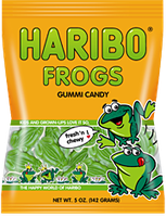 HARIBO Frogs Gummi Candy