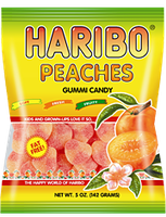 HARIBO Peaches Gummi Candy