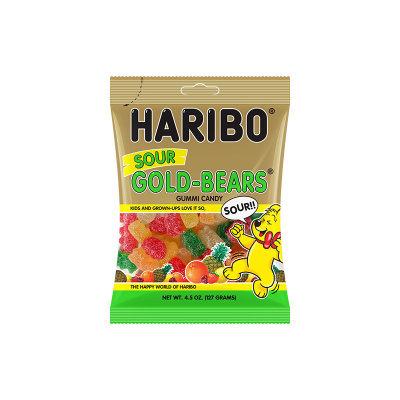 HARIBO Sour Gold Bears Gummi Candy
