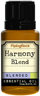 Piping Rock Harmony Blend Essential Oil 1/2 oz (15 mL) 100% Pure -Therapeutic Grade