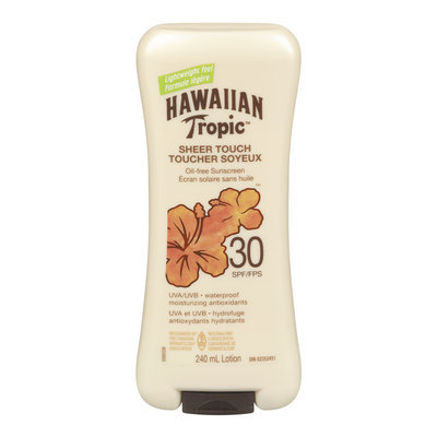 Hawaiian Tropic Sheer Touch Oil-Free Sunscreen