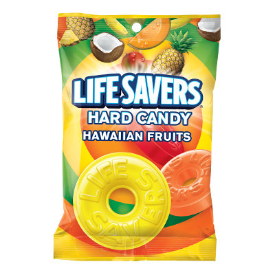 Life Savers Hawaiian Fruits Hard Candy