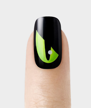 Broadway Press-On Manicure Design - Gossip Ghoul