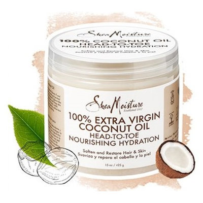 SheaMoisture 100% Extra Virgin Coconut Oil Head To Toe Nourishing Hydration