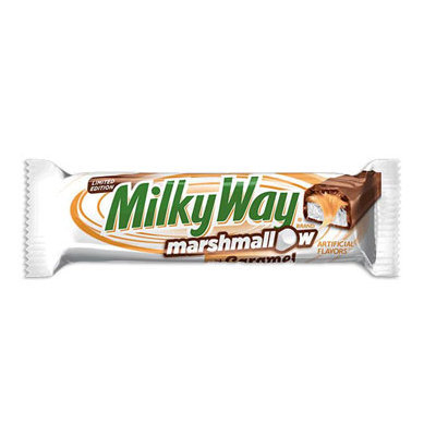 Milky Way Marshmallow with Caramel Bar - Limited Edition