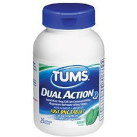 Tums Dual Action Acid Reducer Plus Antacid