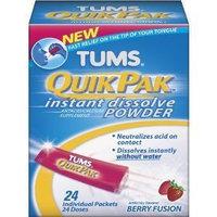 Tums Quikpak Instant Dissolve Powder Berry Fusion