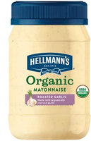 Hellmann's Organic Roasted Garlic Mayonnaise