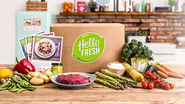 Meal box kit | Hello Fresh | Beanstalk Mums