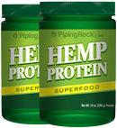 Piping Rock Hemp Protein 2 Bottles x 14 oz (397 g)