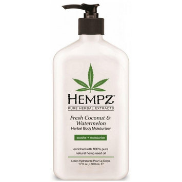 Supre Hempz Herbal Body Moisturizer Fresh Coconut & Watermelon 17oz