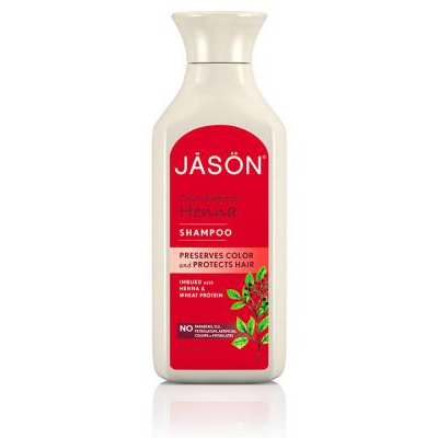 JĀSÖN Color Protect Henna Shampoo Preserves Color and Protects Hair