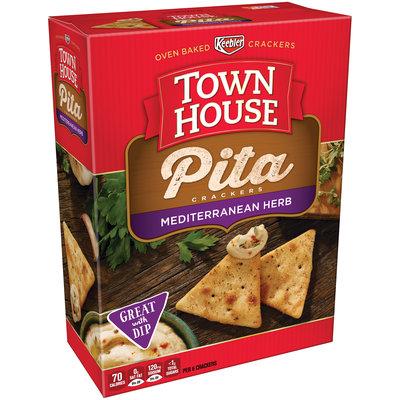 Keebler Town House Pita Mediterranean Herb Crackers