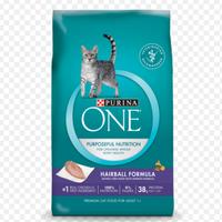 PURINA ONE® Hairball Formula Adult Premium Cat Food