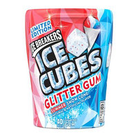 Hershey's Ice Breakers Ice Cubes Glitter Gum