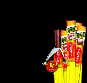 Slim Jim Monster Original Smoked Snack Stick