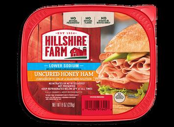 Hillshire Farm Ultra Thin Sliced Lower Sodium Honey Ham