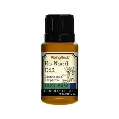 Piping Rock Ho Wood Essential Oil 1/2 oz (15 ml) 100% Pure -Therapeutic Grade