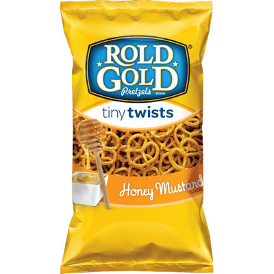 Rold Gold® Honey Mustard Flavored Tiny Twists Pretzelsa